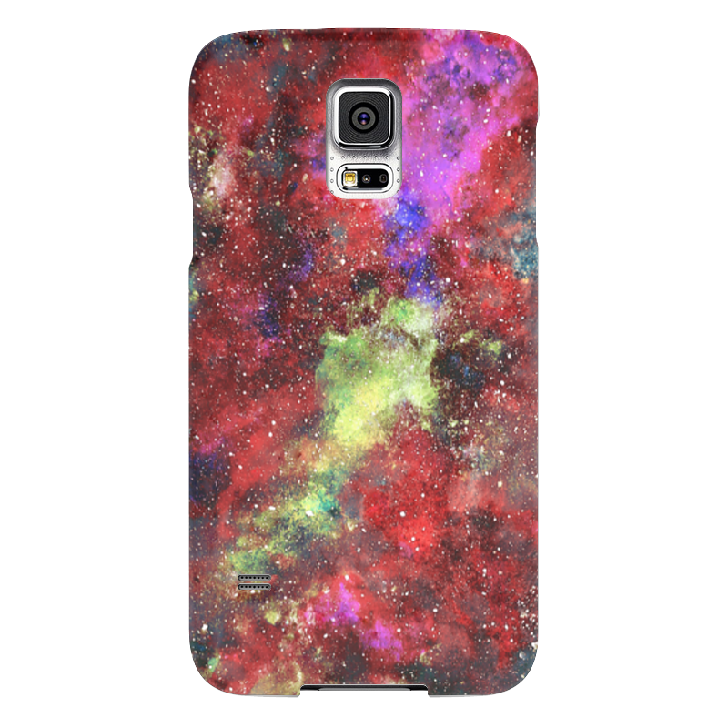 Чехол для Samsung Galaxy S5 Printio Space samsung g900h galaxy s5 16гб белый в омске