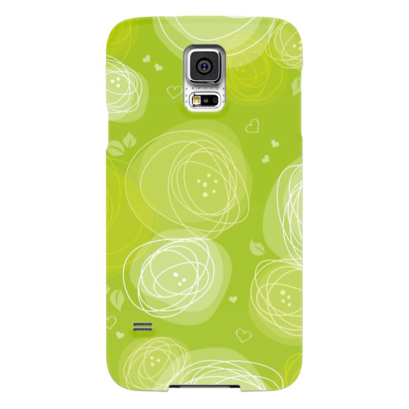 Чехол для Samsung Galaxy S5 Printio Летняя абстракция чехол для samsung galaxy s5 printio композиция в сером