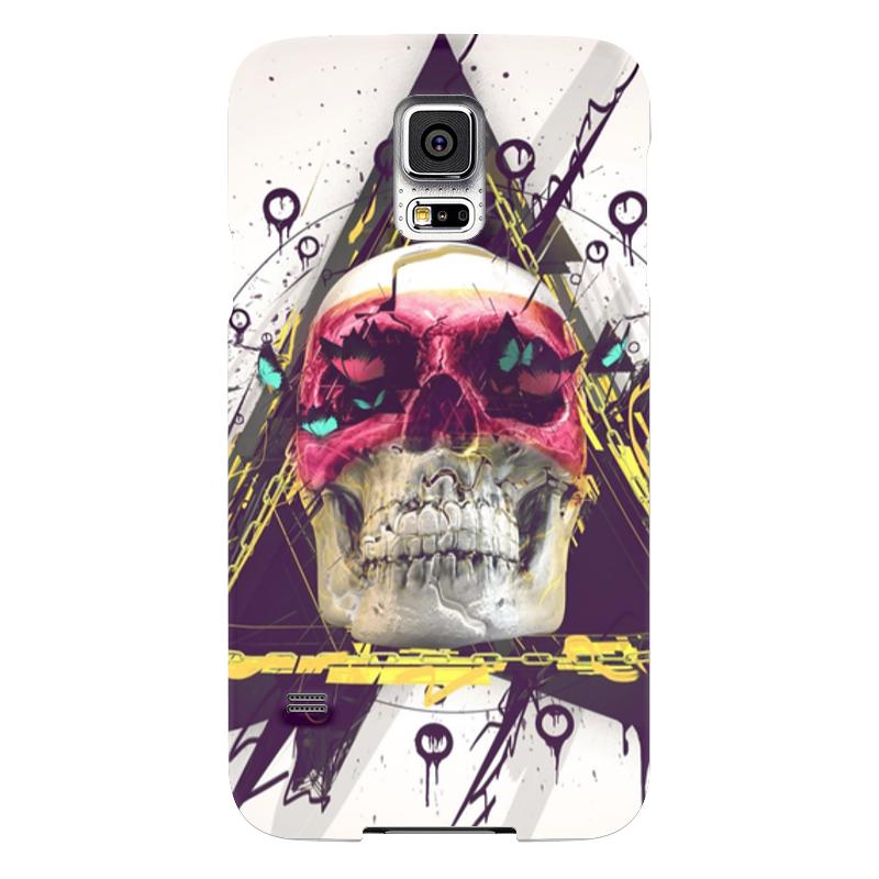 Чехол для Samsung Galaxy S5 Printio Skull in triangle чехол для samsung galaxy s5 printio skull