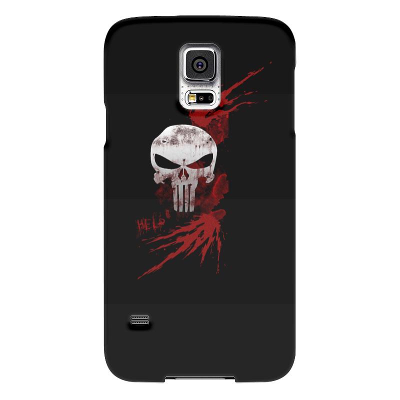Чехол для Samsung Galaxy S5 Printio Каратель. punisher чехол для samsung galaxy s5 printio skull