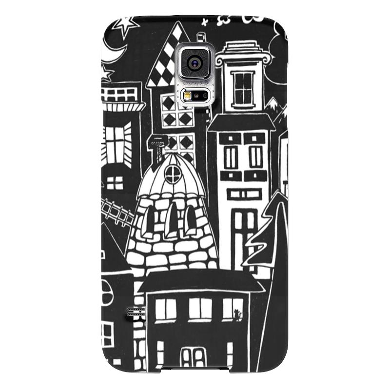 Чехол для Samsung Galaxy S5 Printio Город вместе с тобой чехол для samsung galaxy s5 printio череп художник