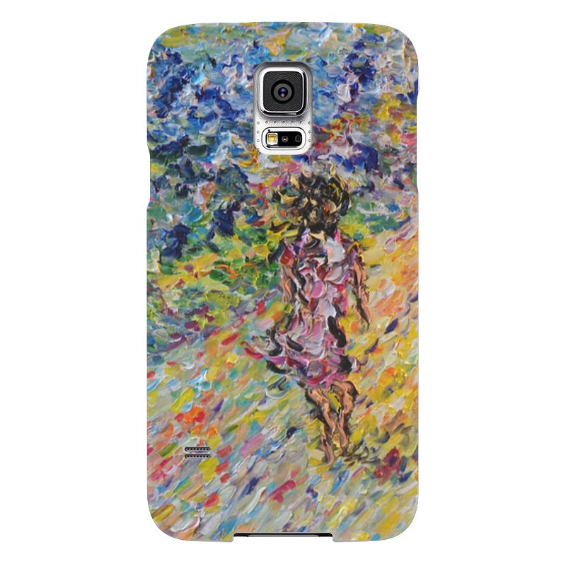Чехол для Samsung Galaxy S5 Printio Дорога к счастью книги энас книга княжна дубровина повесть дорога к счастью