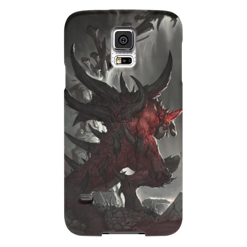 Чехол для Samsung Galaxy S5 Printio Diablo чехол для samsung galaxy s5 printio череп художник