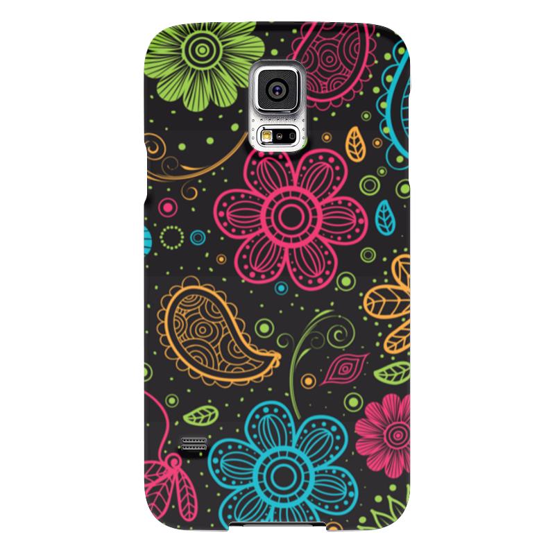 Чехол для Samsung Galaxy S5 Printio Цветочный чехол для samsung galaxy s5 printio барселона на samsung galaxy s5