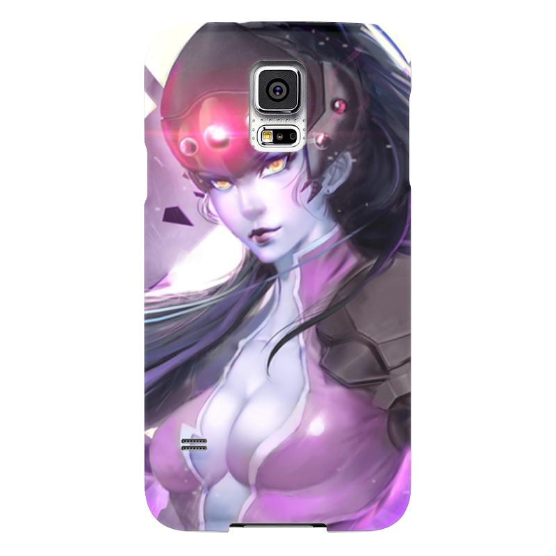 Чехол для Samsung Galaxy S5 Printio Overwatch: widowmaker чехол для samsung galaxy s5 printio череп художник