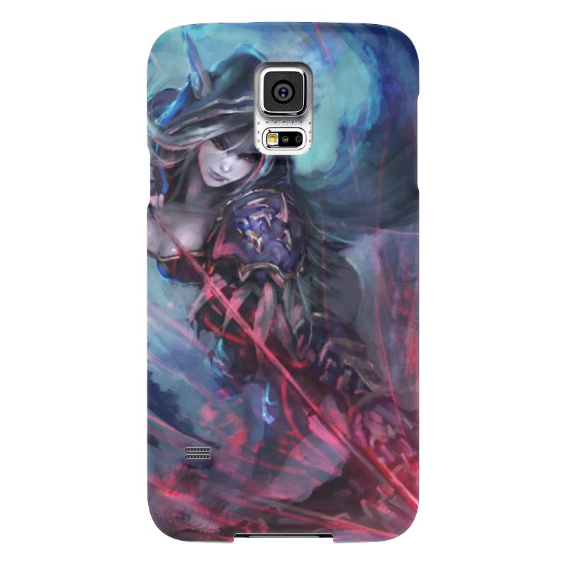 Чехол для Samsung Galaxy S5 Printio Sylvanas windrunner чехол для samsung galaxy s5 printio череп