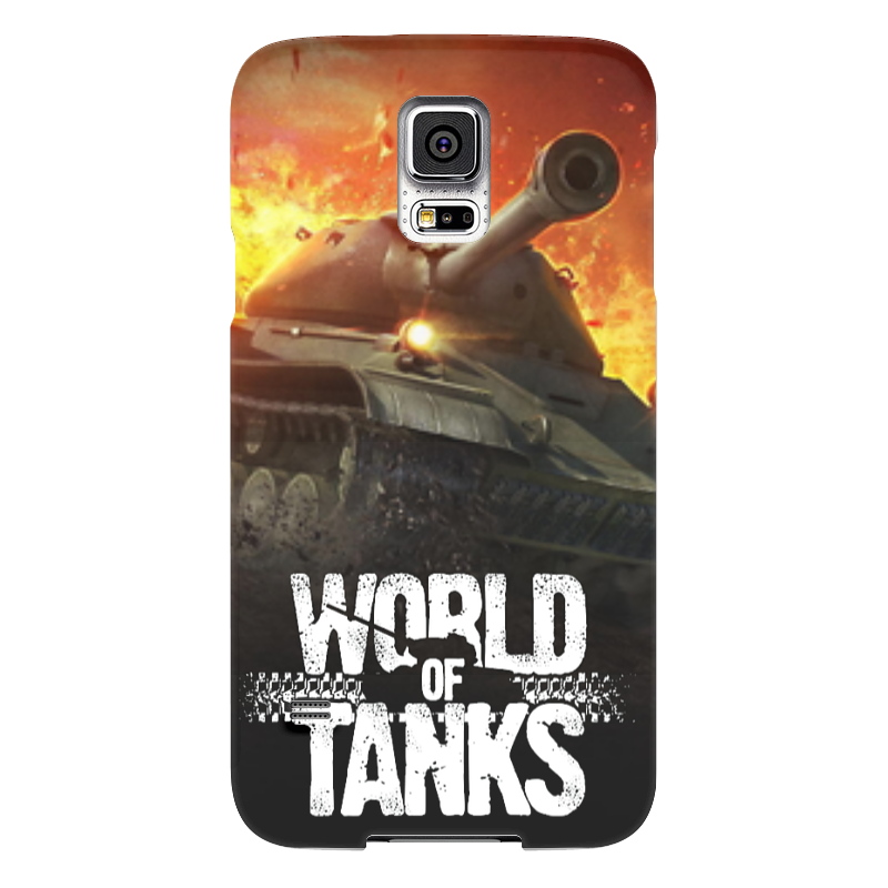 Чехол для Samsung Galaxy S5 Printio World of tanks чехол для samsung galaxy s5 printio череп художник