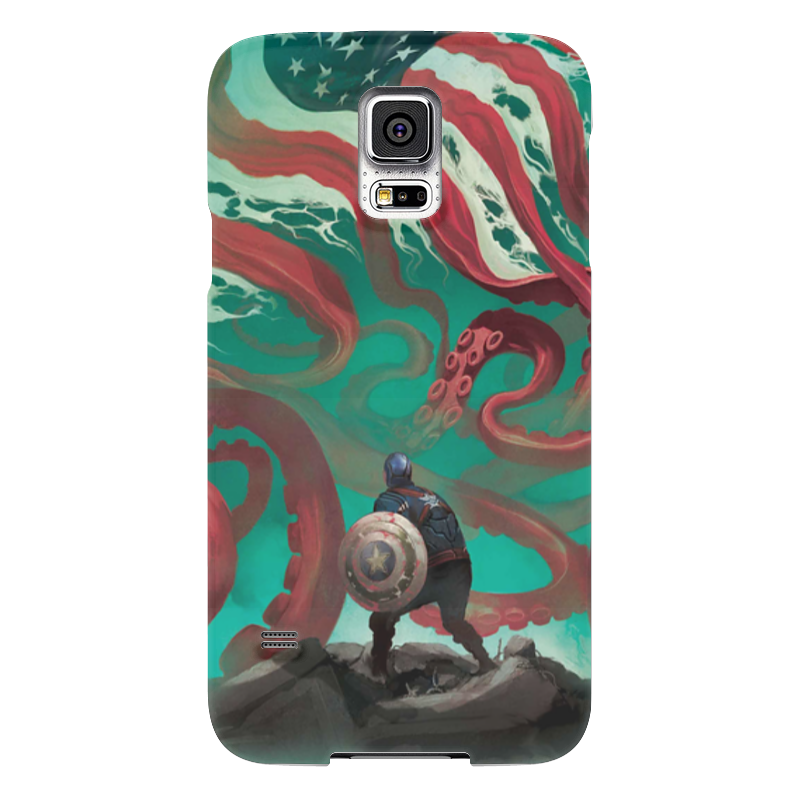 Чехол для Samsung Galaxy S5 Printio Капитан америка чехол для samsung galaxy s5 printio барселона на samsung galaxy s5