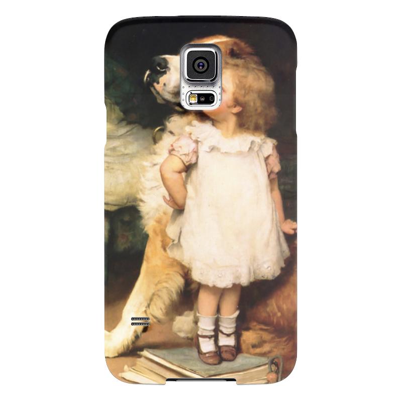 Чехол для Samsung Galaxy S5 Printio Картина артура элсли (1860-1952) чехол для samsung galaxy s5 printio череп художник