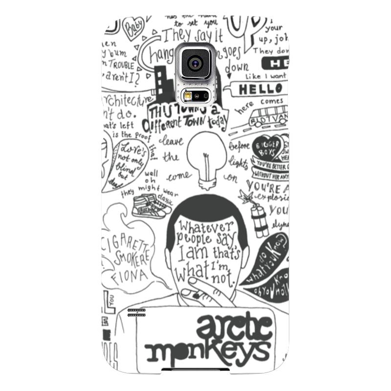 Чехол для Samsung Galaxy S5 Printio Arctic monkeys чехол для samsung galaxy s5 printio череп
