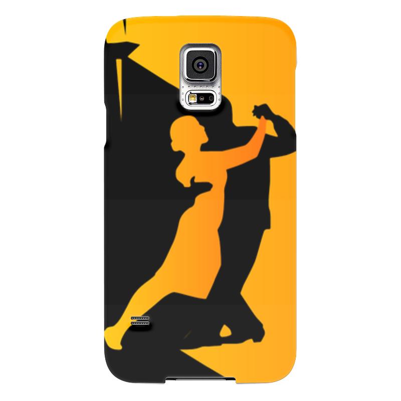 Чехол для Samsung Galaxy S5 Printio Танго в ночи мячи адидас танго в киеве
