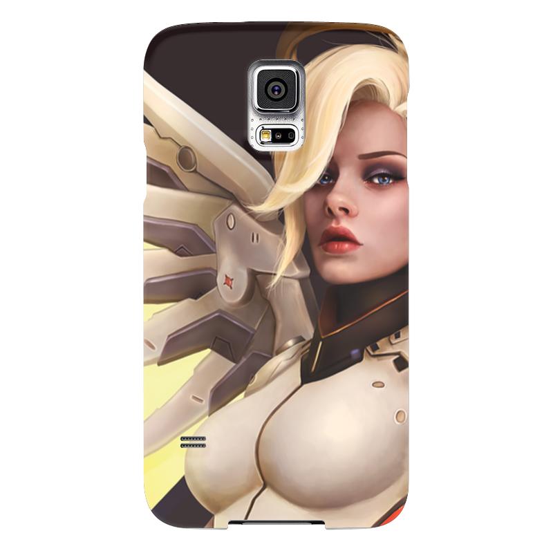 Чехол для Samsung Galaxy S5 Printio Mercy чехол для samsung galaxy s5 printio череп художник