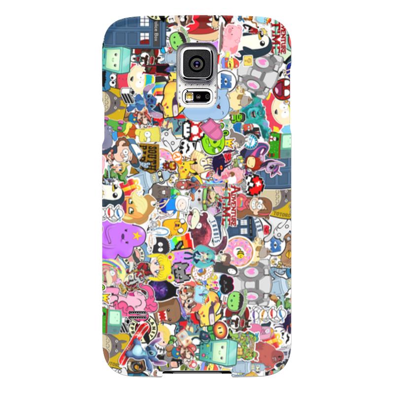 Чехол для Samsung Galaxy S5 Printio Мультики