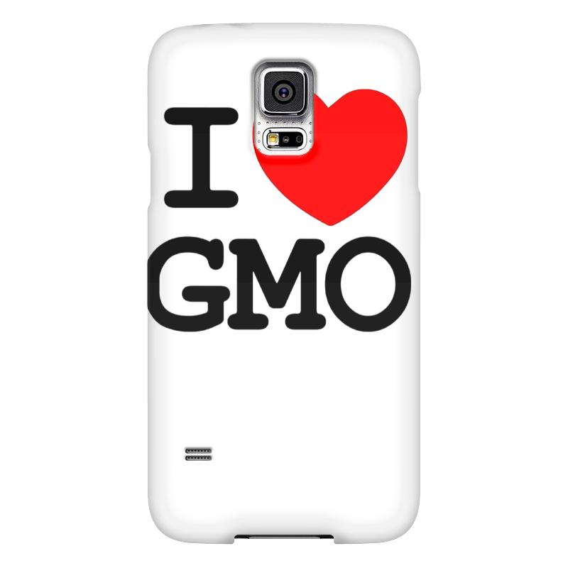 Чехол для Samsung Galaxy S5 Printio I love gmo чехол для samsung galaxy s5 printio череп художник
