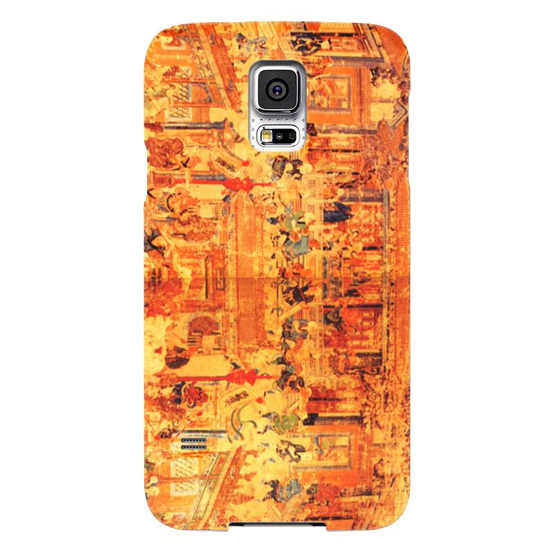 Чехол для Samsung Galaxy S5 Printio Шаолинь samsung g900h galaxy s5 16гб белый в омске