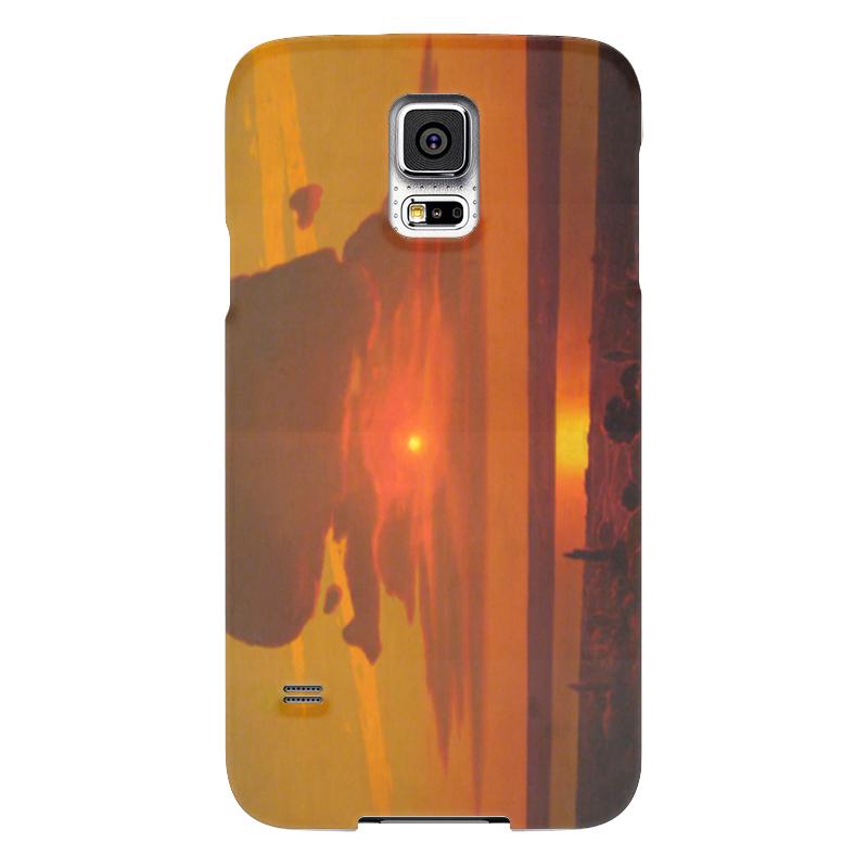 Чехол для Samsung Galaxy S5 Printio Красный закат (картина архипа куинджи) чехол для samsung galaxy s5 printio череп художник