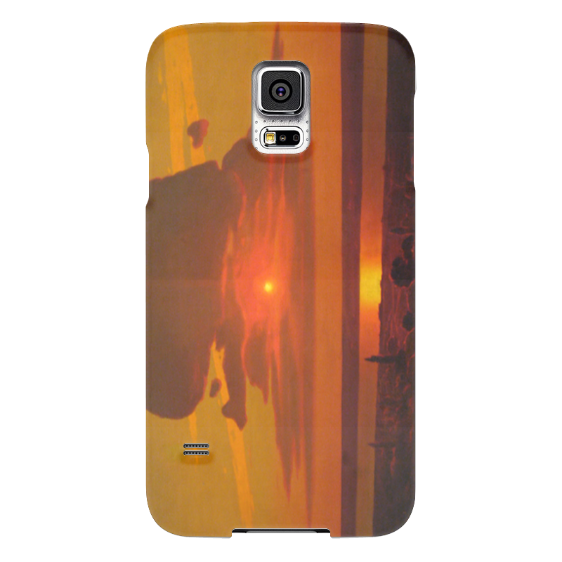 Чехол для Samsung Galaxy S5 Printio Красный закат (картина архипа куинджи) чехол для blackberry z10 printio север картина архипа куинджи