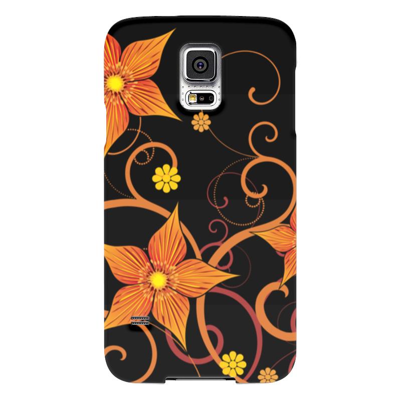 Чехол для Samsung Galaxy S5 Printio Цветочный чехол для samsung galaxy s5 printio skull