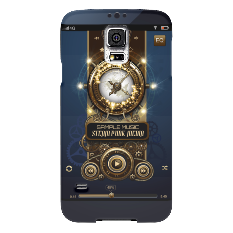 Чехол для Samsung Galaxy S5 Printio Стимпанк-музыка чехол для samsung galaxy s5 printio череп художник