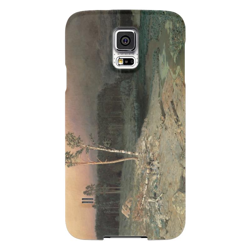 Чехол для Samsung Galaxy S5 Printio На острове валааме (картина архипа куинджи) чехол для blackberry z10 printio север картина архипа куинджи