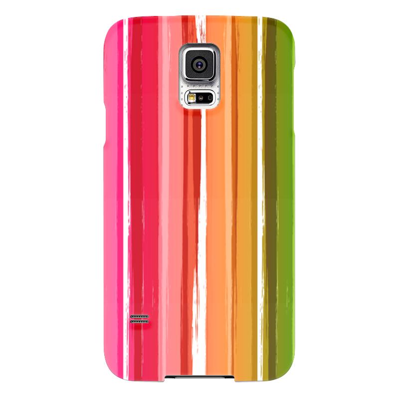 Чехол для Samsung Galaxy S5 Printio Радуга чехол для samsung galaxy s5 printio череп художник