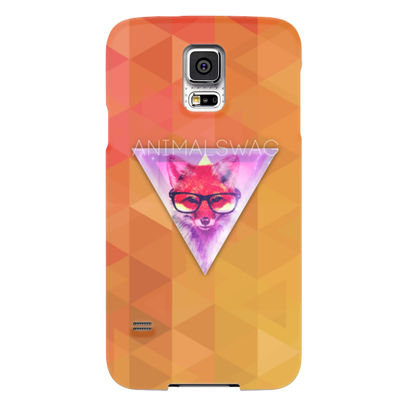 Чехол для Samsung Galaxy S5 Printio animalswag ii collection: fox чехол для samsung galaxy s5 printio череп художник