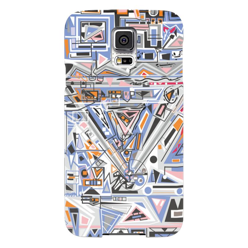 Чехол для Samsung Galaxy S5 Printio Ташизм чехол для samsung galaxy s5 printio череп художник