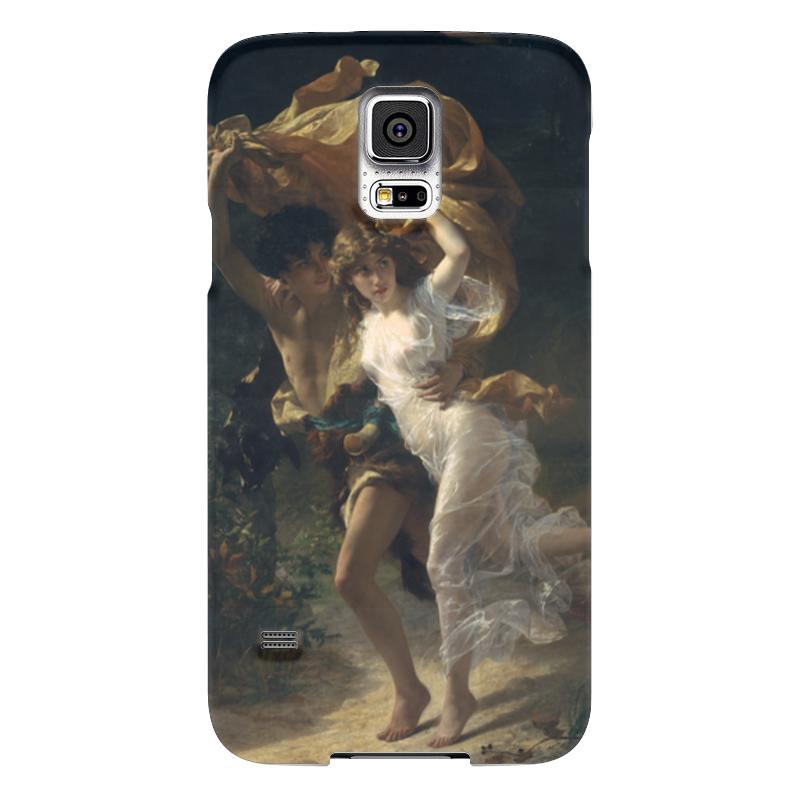 Чехол для Samsung Galaxy S5 Printio Буря (пьер огюст кот) чехол для samsung galaxy s5 printio череп художник