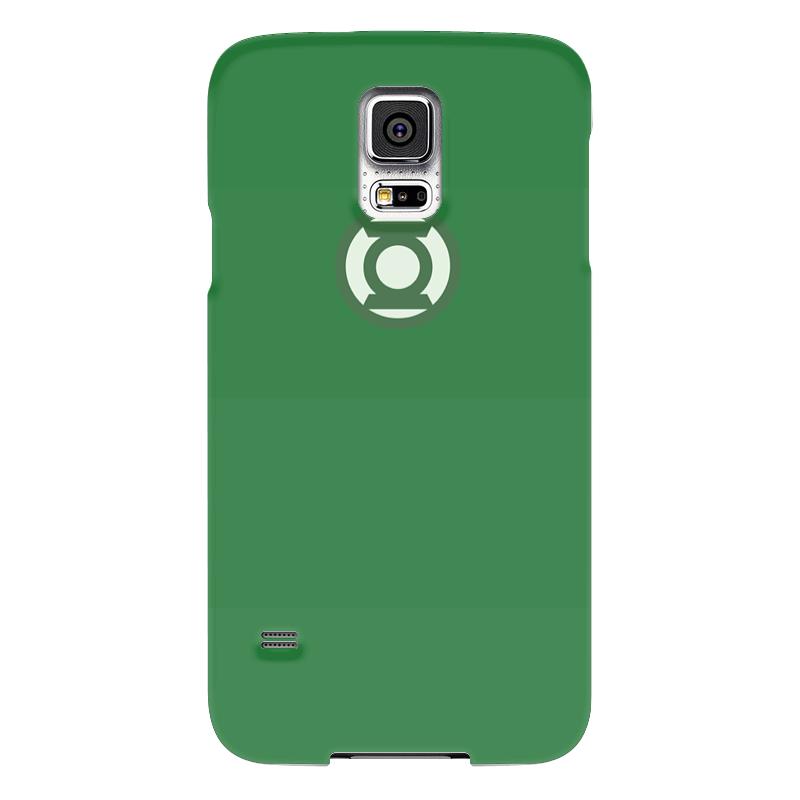 Чехол для Samsung Galaxy S5 Printio Зеленый фонарь чехол для samsung galaxy s5 printio череп художник