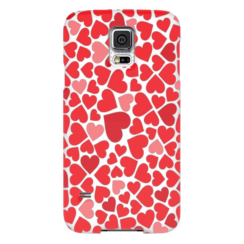 Чехол для Samsung Galaxy S5 Printio Любовь чехол для samsung galaxy s5 printio череп художник