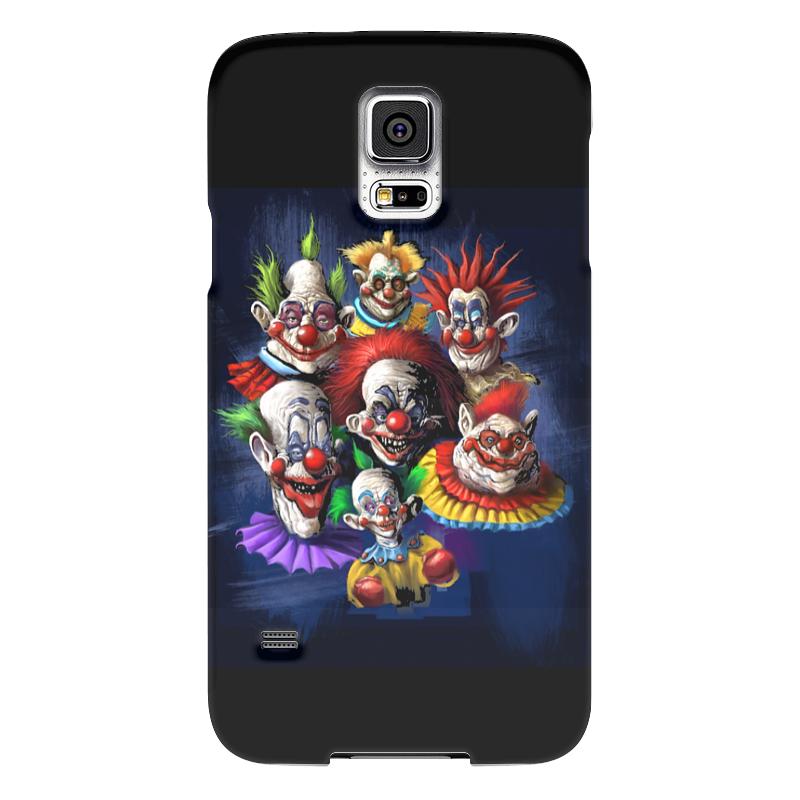 Чехол для Samsung Galaxy S5 Printio Клоуны-злодеил чехол для samsung galaxy s5 printio череп художник