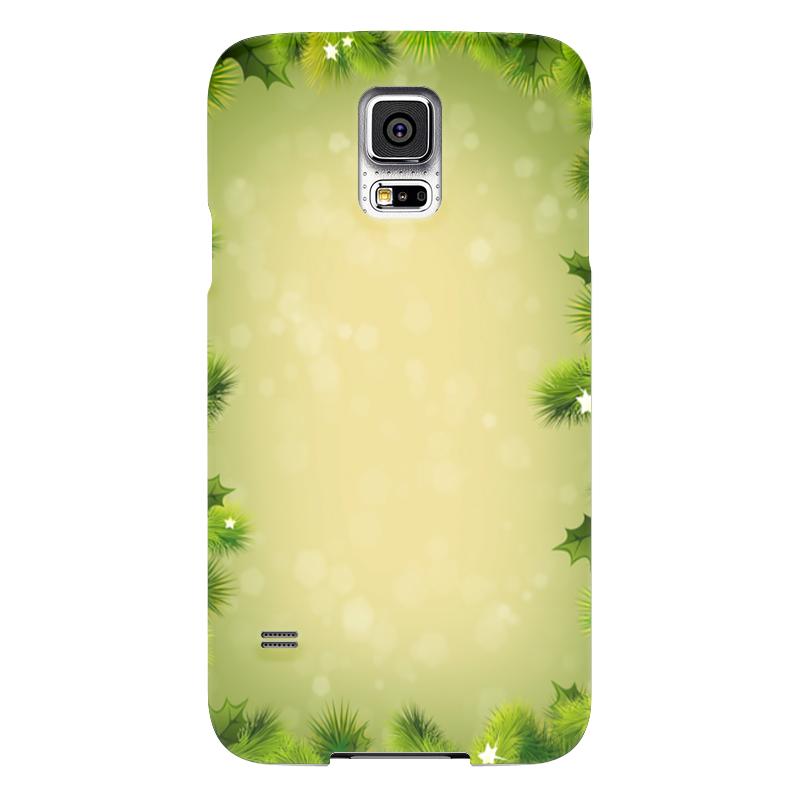 Чехол для Samsung Galaxy S5 Printio С новым годом! чехол для samsung galaxy s7 edge кожаный printio с новым годом