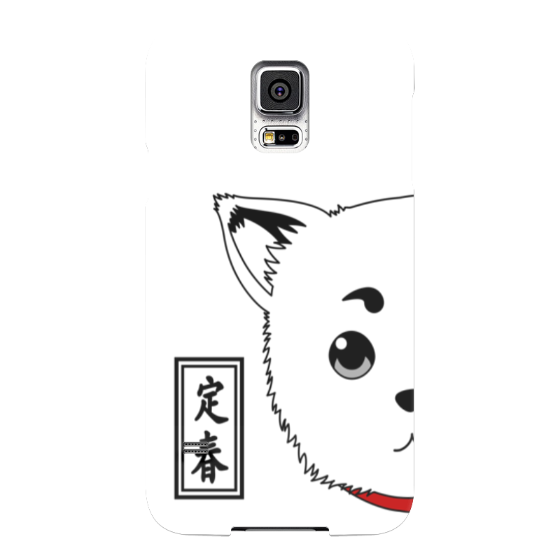 Чехол для Samsung Galaxy S5 Printio Гинтама. садахару чехол для samsung galaxy s5 printio барселона на samsung galaxy s5