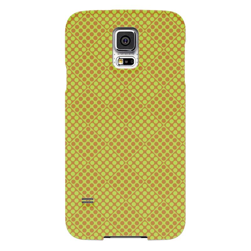 Чехол для Samsung Galaxy S5 Printio Горох в квадрате чехол для samsung galaxy s5 printio композиция в сером