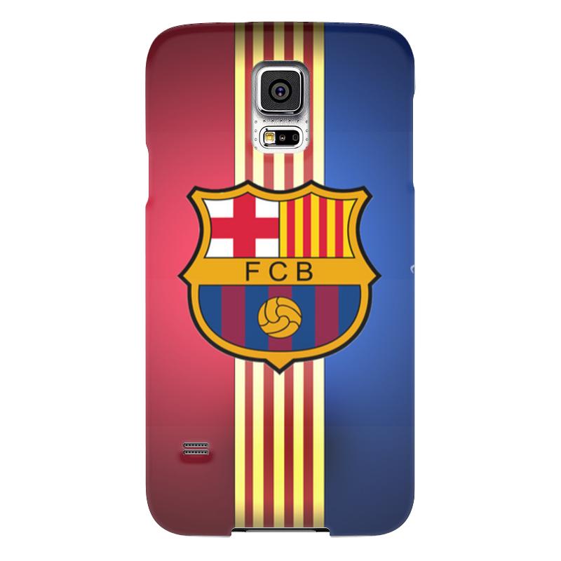 Чехол для Samsung Galaxy S5 Printio Барселона на samsung galaxy s5