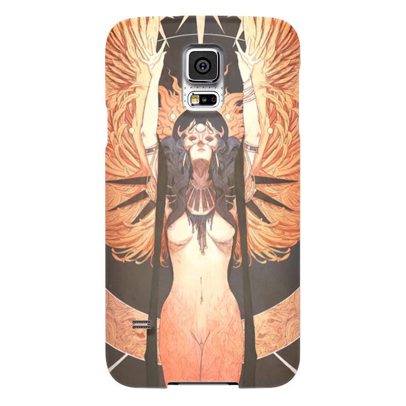 Чехол для Samsung Galaxy S5 Printio Ангел ночи ночи в роданте