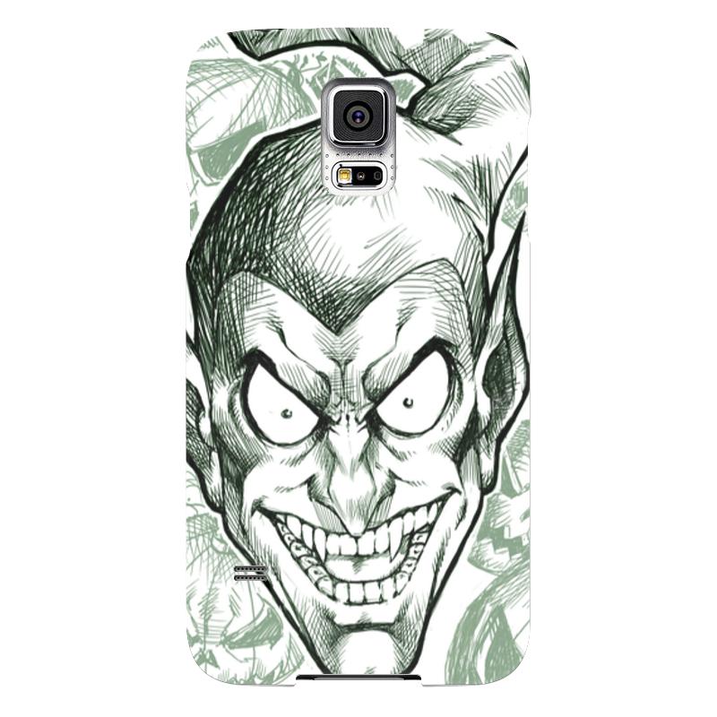 Чехол для Samsung Galaxy S5 Printio Зеленый гоблин чехол для samsung galaxy s5 printio бохо шик зеленый