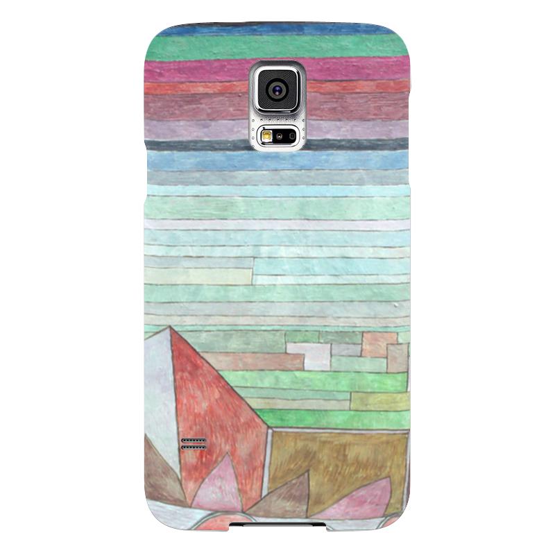 Чехол для Samsung Galaxy S5 Printio Вид на плодородную страну чехол для samsung galaxy s5 printio череп художник