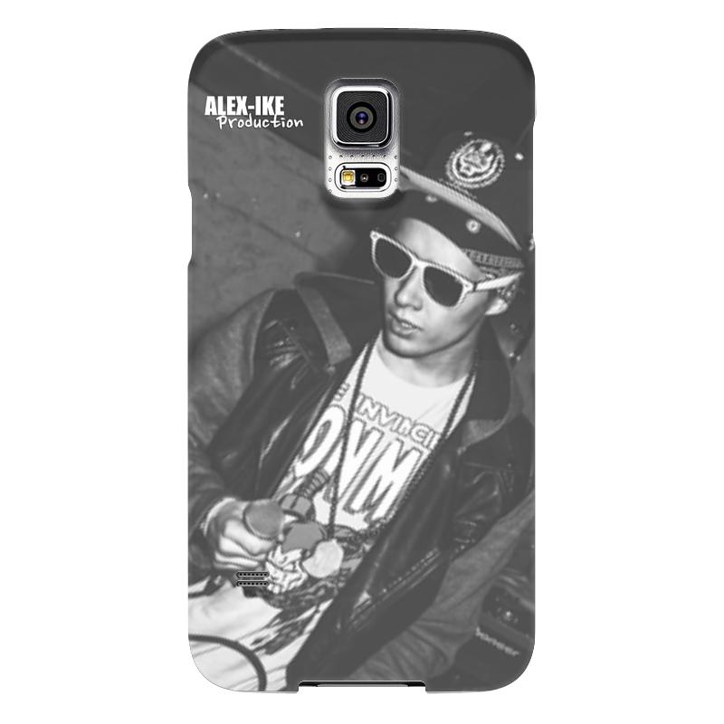 Чехол для Samsung Galaxy S5 Printio Rap-корпус