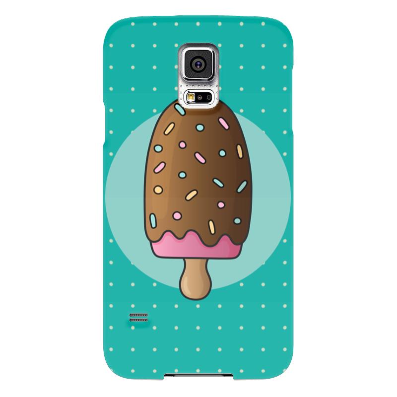 Чехол для Samsung Galaxy S5 Printio Мороженое