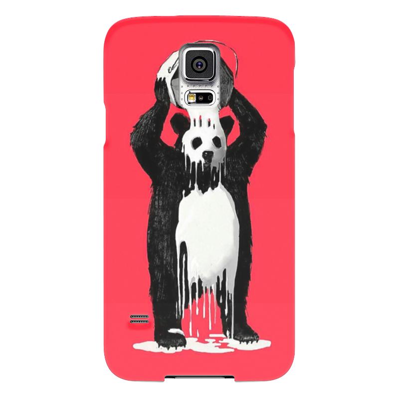Чехол для Samsung Galaxy S5 Printio Панда в краске позиционеры для сна candide позиционер с подголовником воздухопроницаемая панда air