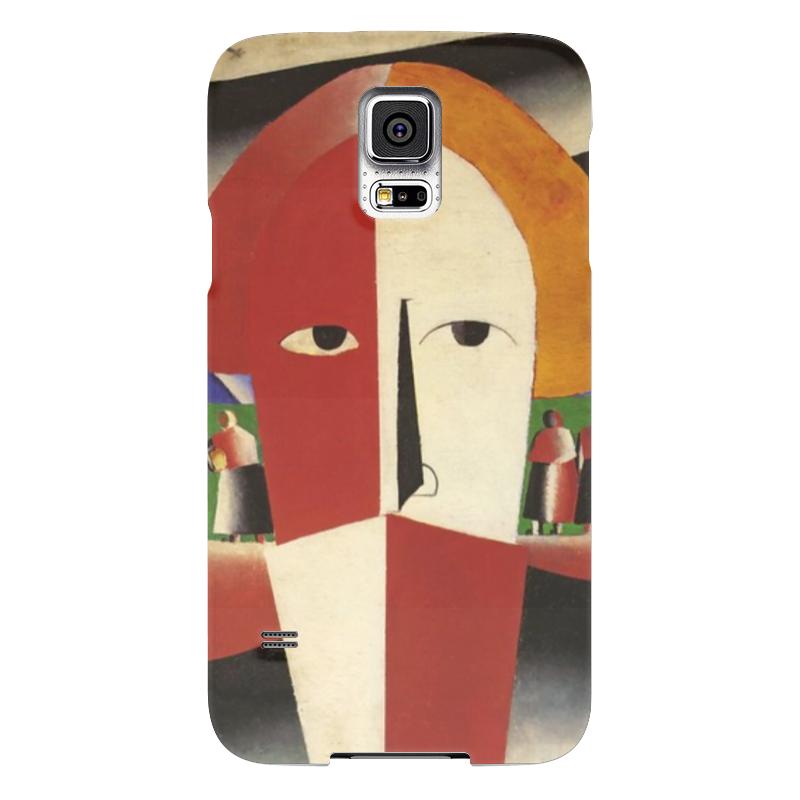 Чехол для Samsung Galaxy S5 Printio Голова крестьянина (казимир малевич)
