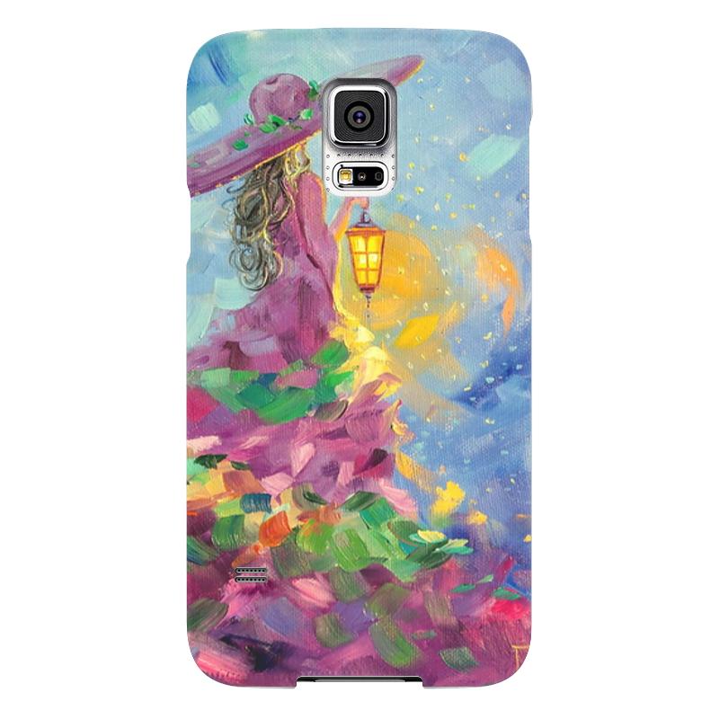 Чехол для Samsung Galaxy S5 Printio Летняя ночь-волшебница чехол для samsung galaxy s5 printio череп художник