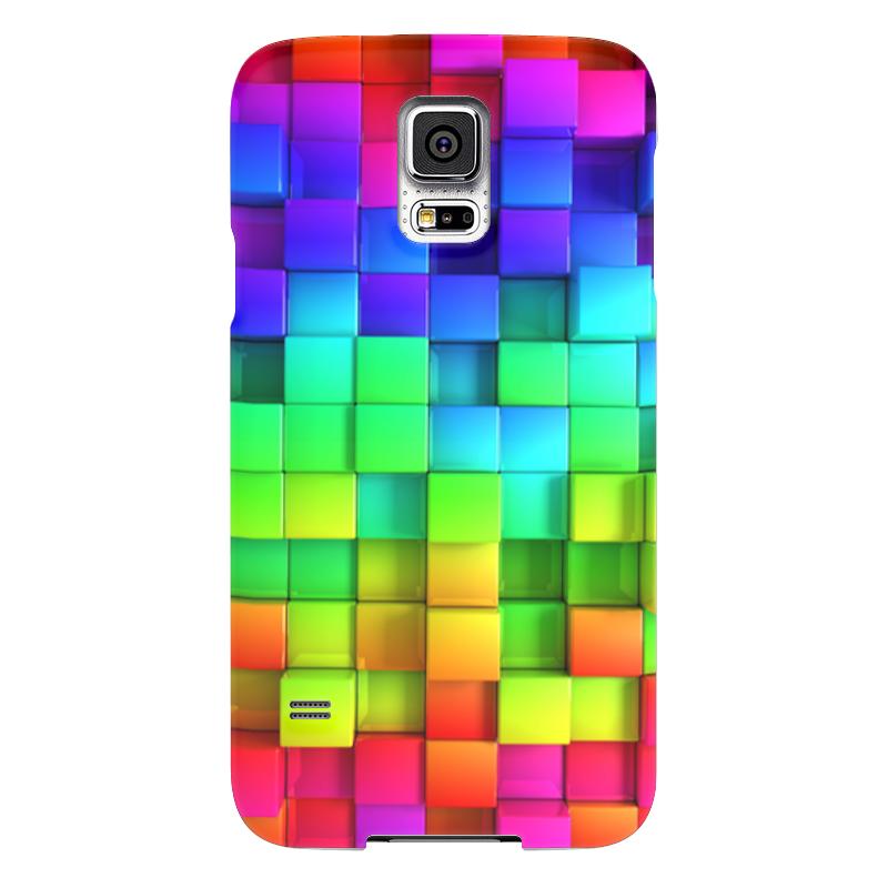 Чехол для Samsung Galaxy S5 Printio Яркие краски чехол для samsung galaxy s5 printio череп