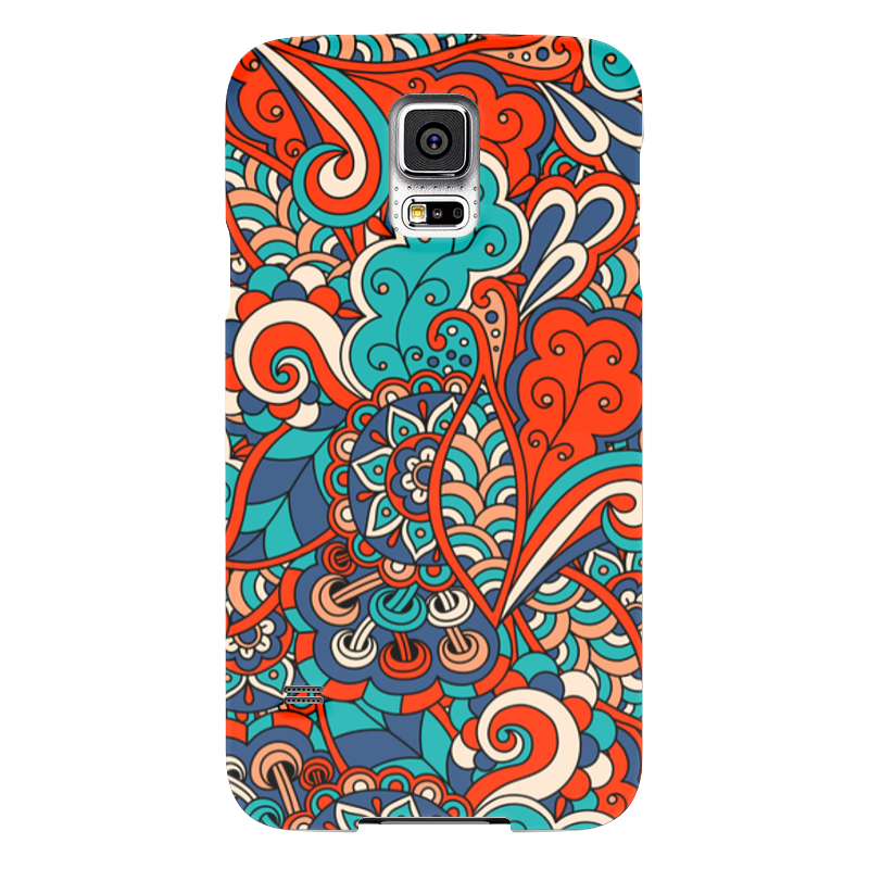 Чехол для Samsung Galaxy S5 Printio Дудл узор чехол для samsung galaxy s5 printio slim finnegan