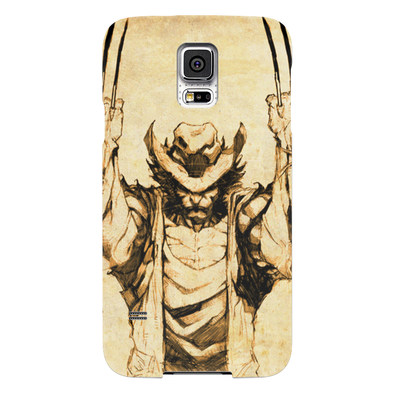 Чехол для Samsung Galaxy S5 Printio Росомаха чехол для samsung galaxy s5 printio skull