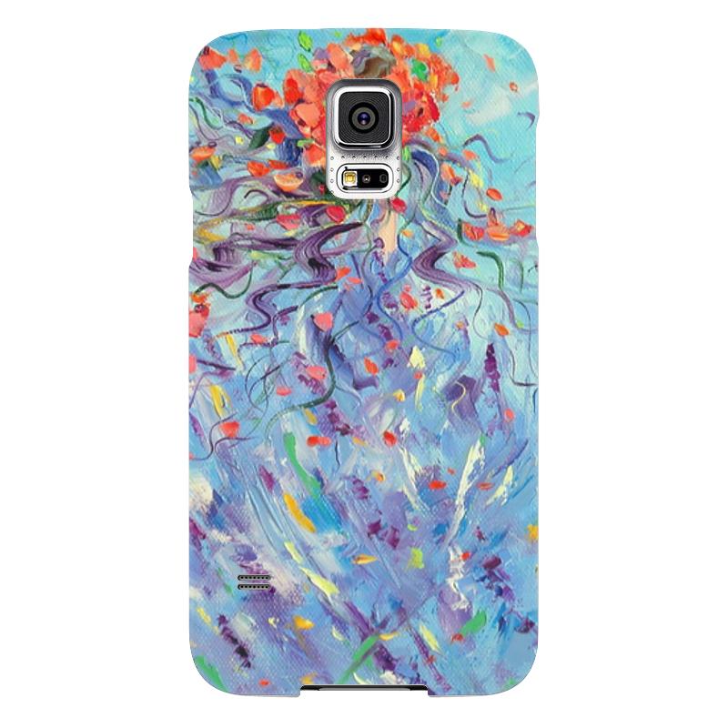 Чехол для Samsung Galaxy S5 Printio Фантазия samsung g900h galaxy s5 16гб белый в омске