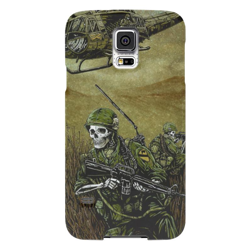 Чехол для Samsung Galaxy S5 Printio Война чехол для samsung galaxy s5 printio череп художник