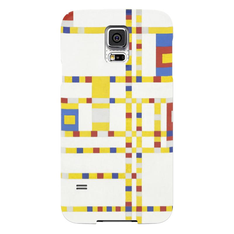 Чехол для Samsung Galaxy S5 Printio Бродвей буги-вуги (питер мондриан) чехол для карточек пит мондриан дк2017 110