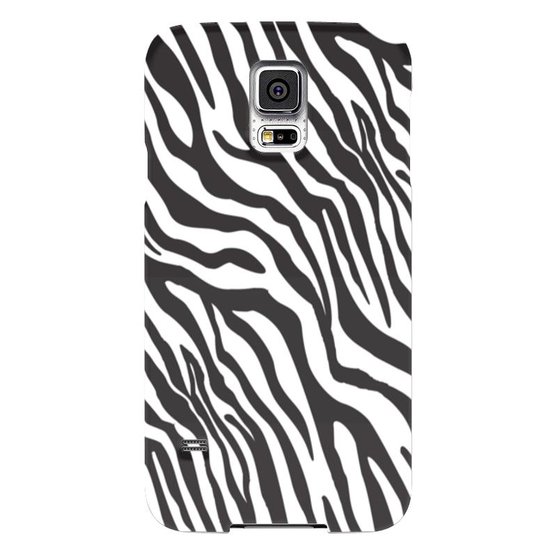 Чехол для Samsung Galaxy S5 Printio Зебра чехол для samsung galaxy s5 printio череп художник